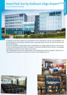 Hotel Park Inn by Radisson Liège Airport***