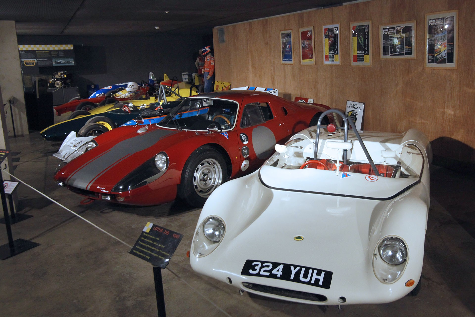 Stavelot Abbey - Circuit museum