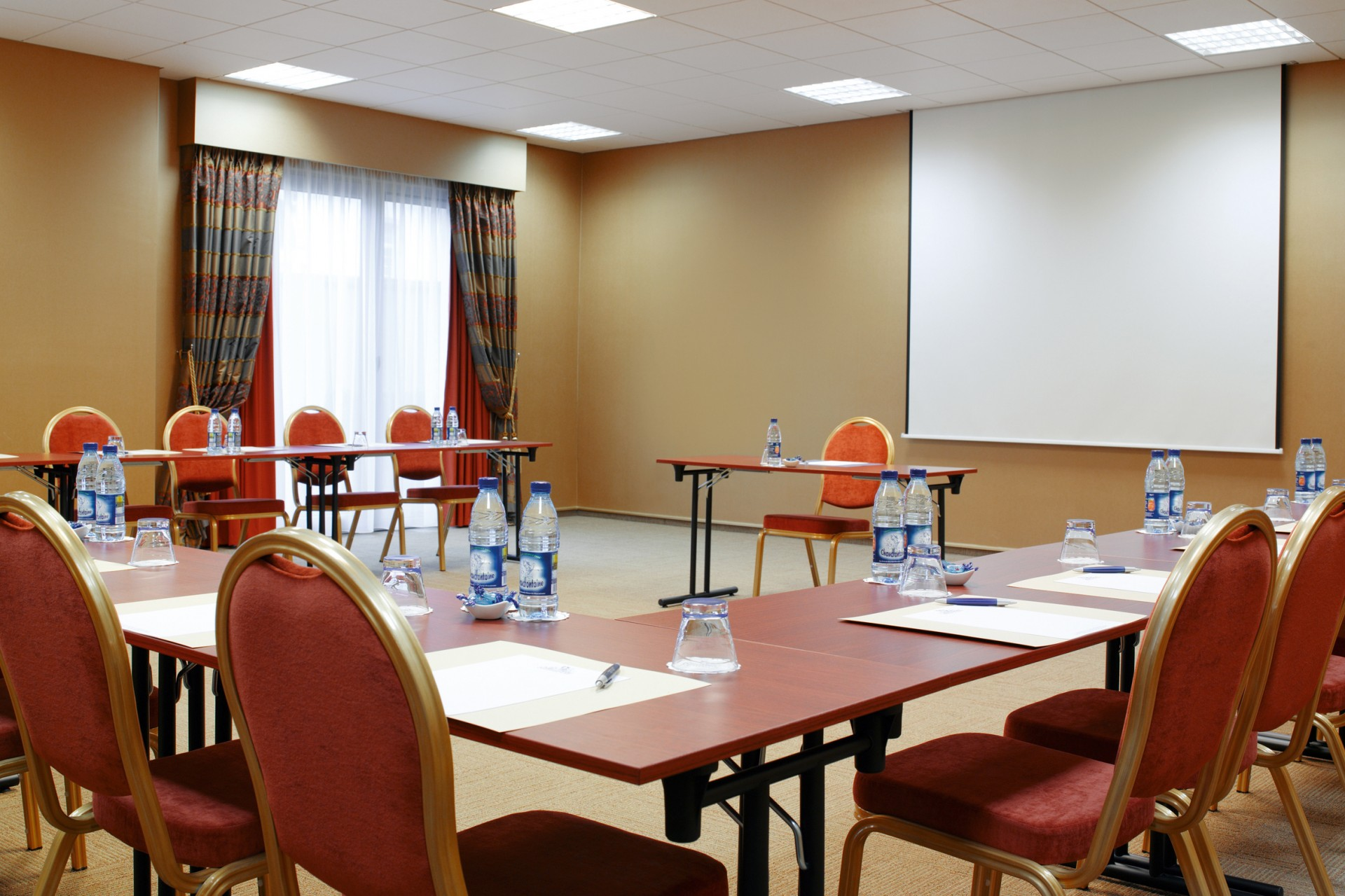 Château des Thermes in Chaudfontaine - Seminar rooms