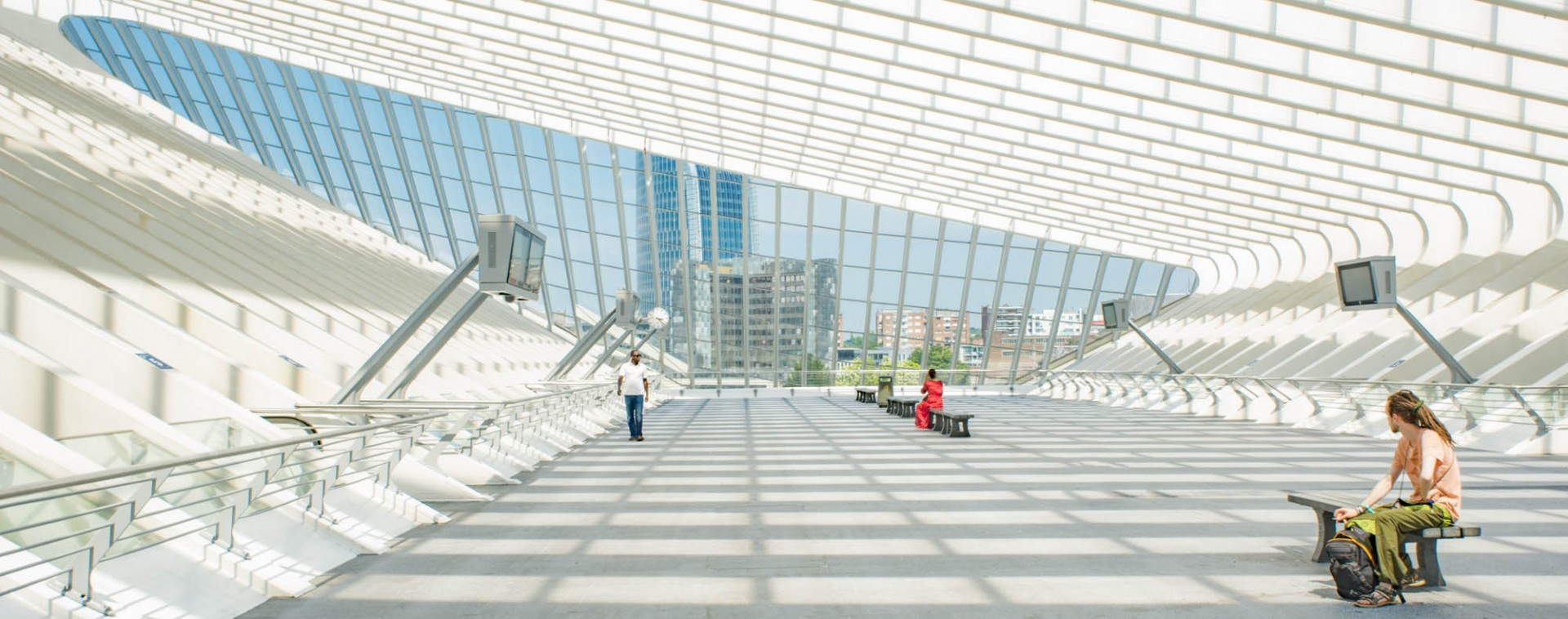 The Business tourism destination - Liège-Spa Businessland | © FTPL-Jean-Marc Léonard-Gare SNCB de Liège-Guillemins – Arch.-Ing. Santiago CALATRAVA