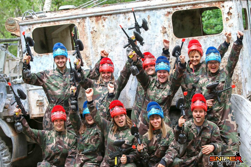Sniper Zone - Paintball